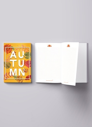 LWP Shop Autumn Notebook Oranj